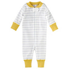 Hanna Andersson Baby Sleeper – Cloud Stripe