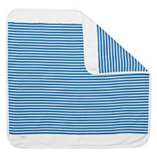 Hanna Andersson Nautical Stripe Stroller Blanket - Ultramarine