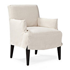 Jackson Slipcovered Armchair