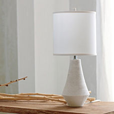 Bennington Lamp – White Shade