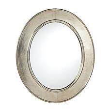 Sullivan Mirror – Silver (Oval)