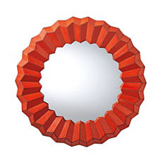 Poppy Mosaic Mirror