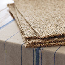Raffia Placemats – Rectangle (Set of 4)