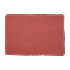 Capri Placemats – Coral (Set of 4)