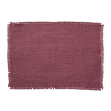 Capri Placemats – Plum (Set of 4)