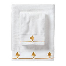 Mustard Gobi Bath Towels