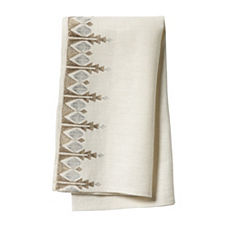 Bergen Embroidered Napkins – Set of 4