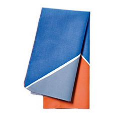 Maritime Napkins – Persimmon/Ultramarine (Set of 4)