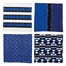 Nova Cocktail Napkins – Assorted Set of 4