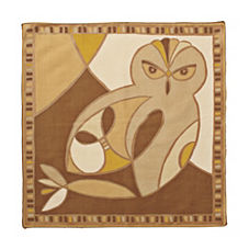 Gold Marbella Owl Napkins – Set of 4