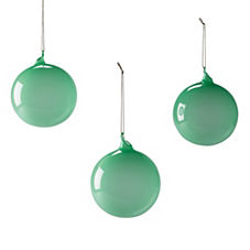 Glass Globes – Jade (Med, Set of 3)