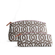 Highland Knot Perfect Pouch & Clutch – Shale