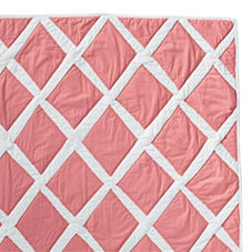 Punch Diamond Quilt & Shams