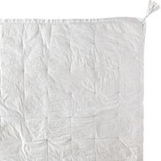Tassel Quilt & Sham – White