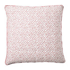 Heart Quilt Euro Sham – Nantucket Red