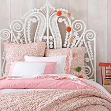 Heart Quilt & Sham – Nantucket Red