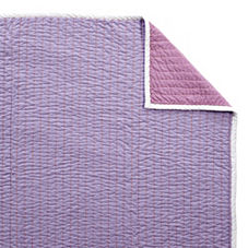 Lilac/Grape Cabin Quilt & Shams