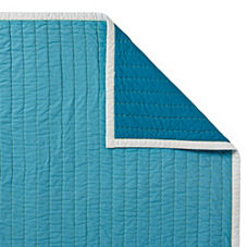 Cabin Quilt & Shams – Turquoise