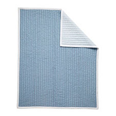 Mini Cabin Quilt - Chambray