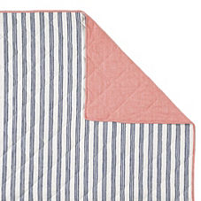 Railroad Stripe Quilt & Sham