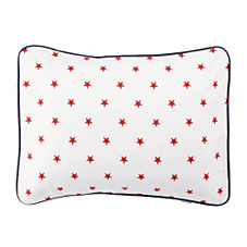Star Standard Sham – Red