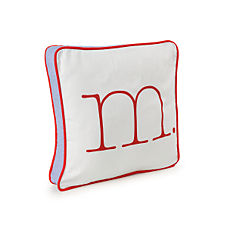 Red Typewriter Letter Pillow