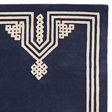 Gobi Wool Rug – Navy