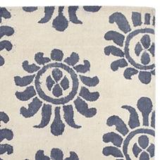 Azul Handpainted Rug