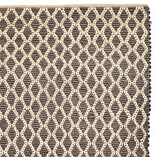 Diamond Loop Rug – Pewter