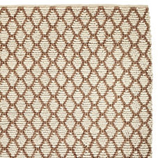Diamond Loop Rug – Ivory