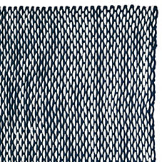 Outdoor Rope Rug – Navy/White