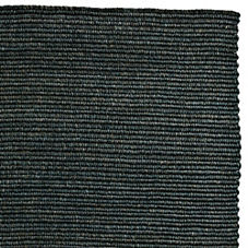 Braided Abaca Rug – Steel