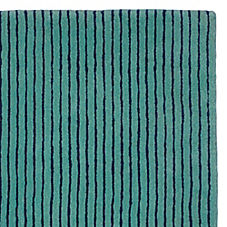 Pencil Stripe Rug – Baltic Blue