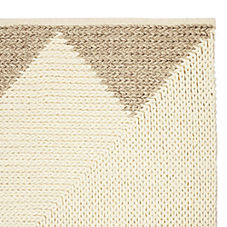 Triangle Border Rug