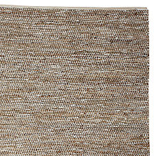 Metallic Suede & Hemp Rug
