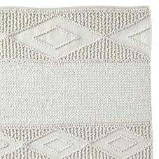 Macramé Wool Rug – Ivory