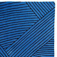 Strata Rug – Cobalt