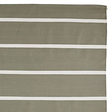 Jersey Stripe Dhurrie – Olive