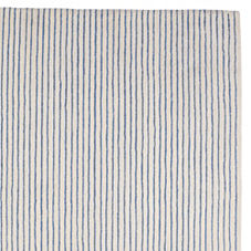 Pencil Stripe Rug – Chambray