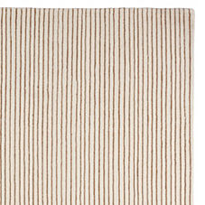 Pencil Stripe Rug – Mocha