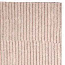 Pencil Stripe Rug – Shell