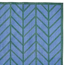 Feather Rug – Corsica/Emerald