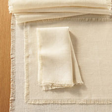 Capri Table Linens – Natural