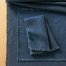 Capri Table Linens – Indigo