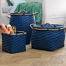 Rope Bin Collection - Cobalt