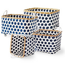 Mercado Baskets – Navy