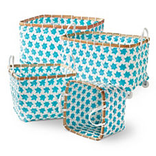 Mercado Baskets – Aqua
