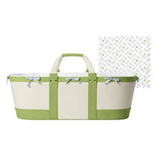 Sausalito Moses Basket – Sprout/Cloud