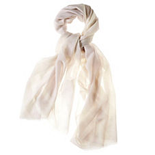 Criss-Cross Scarf – Bone