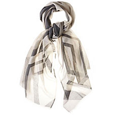 Criss-Cross Scarf – Charcoal